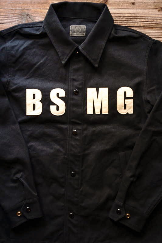 B.S.M.G. WORK - JACKET BLACK