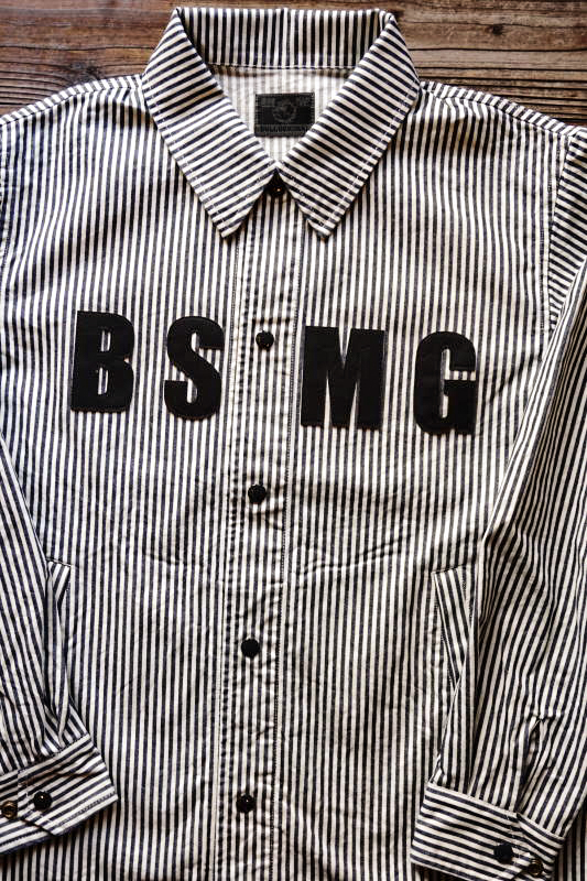 B.S.M.G. WORK - JACKET HICORY