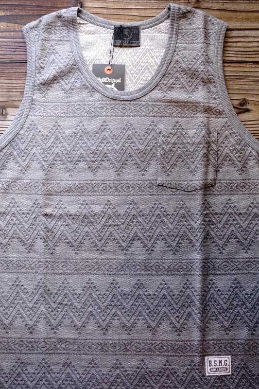 B.S.M.G. GAME - TANK TOP GRAY