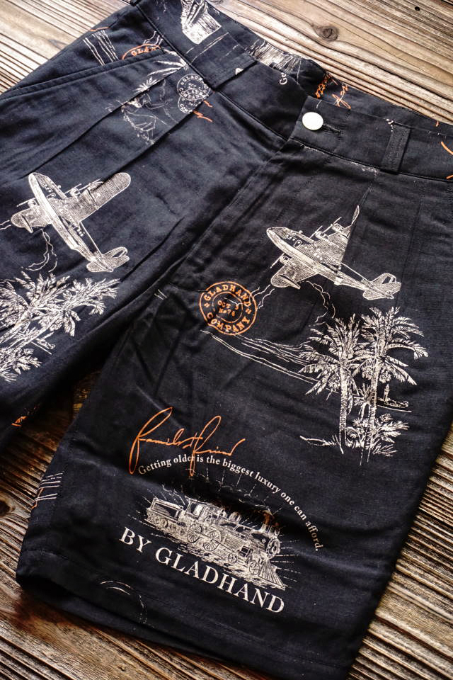 BY GLAD HAND POSTAL - SHORTS BLACK