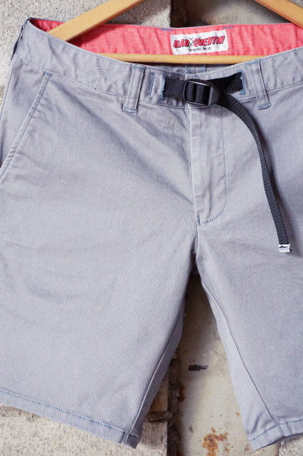 NAD QUENTIN CLIMING SHORTS GRAY