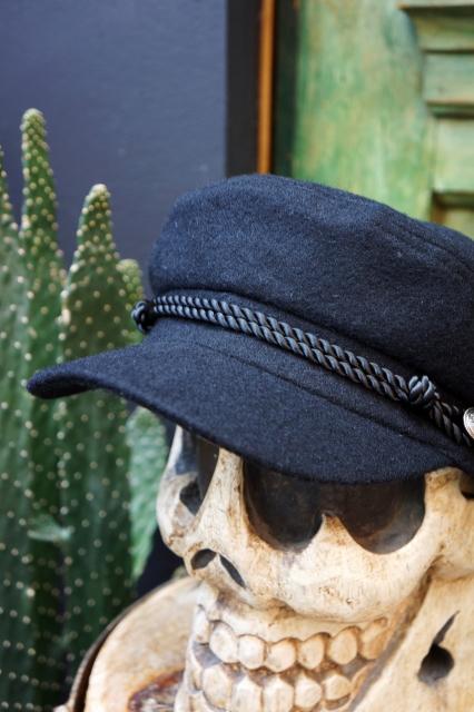 BAD QUENTIN FISHERMAN CAP BLACK