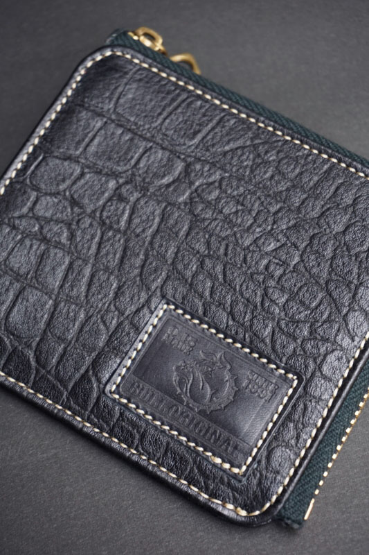 B.S.M.G. B.O. Square Coin Case BLK CROCO