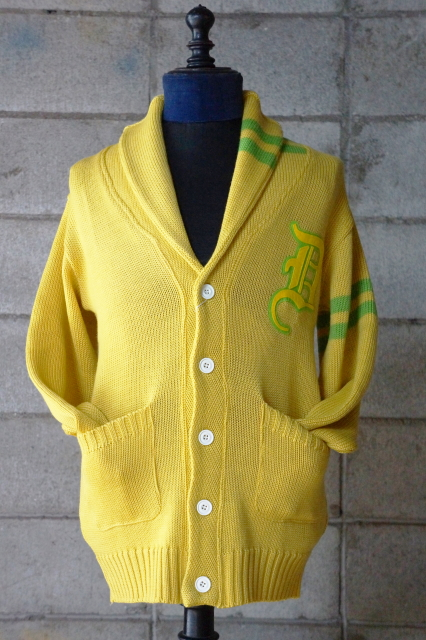 Delinquent Bros Delinquent Knit Cardigan YELLOW