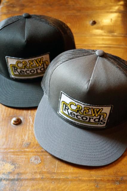 """O.C CREW """"CREW RECORDS""""MESH CAP"""