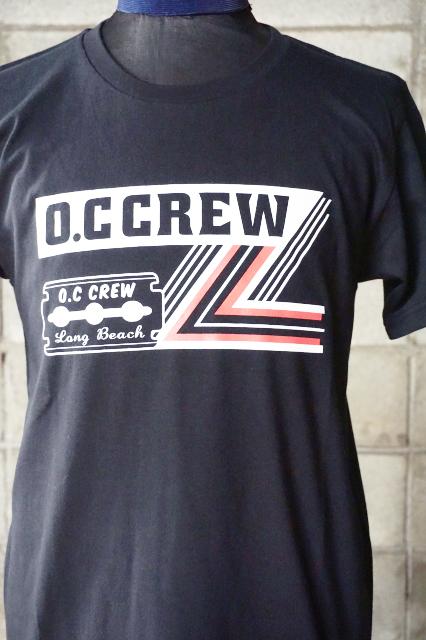 """O.C CREW """"RAZOR""""Tee BLACK"""