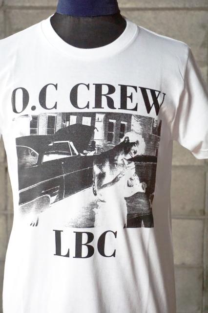 """O.C CREW """"DAMN""""Tee WHITE"""