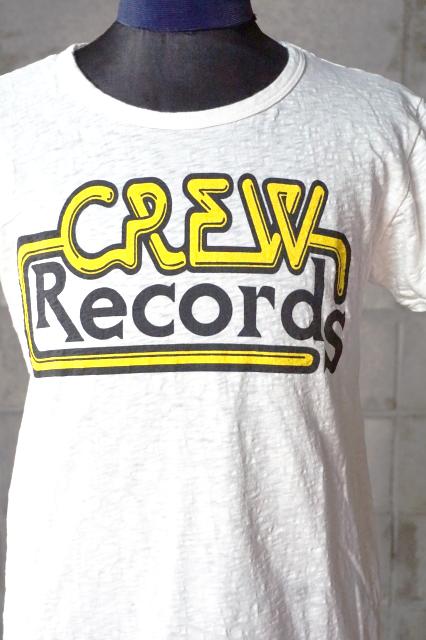 """O.C CREW """"CREW RECORDS""""Tee"""
