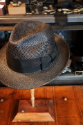 BY GLAD HAND PANAMA - HAT BLACK