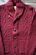 BY GLAD HAND ISLANDS SWEATER BURGUNDY