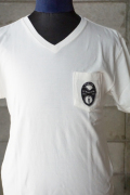 BY GLAD HAND HEARTLOCK - V NECK WHITE