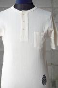 BY GLAD HAND PADLOCK - DROP STITCH HENRY POCKET WHITE