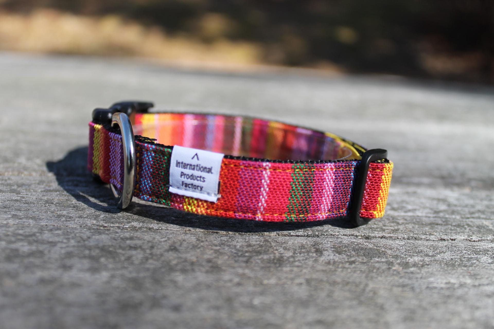 <堀商店>温かみのある色のグラデーション柄のカラー(Narrow Collar)