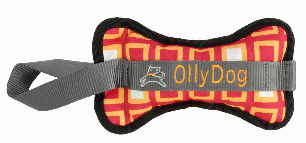 <Ollydog>30%OFF!しっかりと厚みのある丈夫なタグトイ☆オリー・ボーン2 トイ S