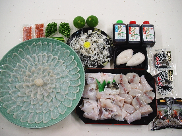 豊後とらふぐ料理セット6人前(送料込み)