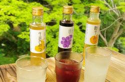 無添加・こだわりのハチミツジュース(柚子)