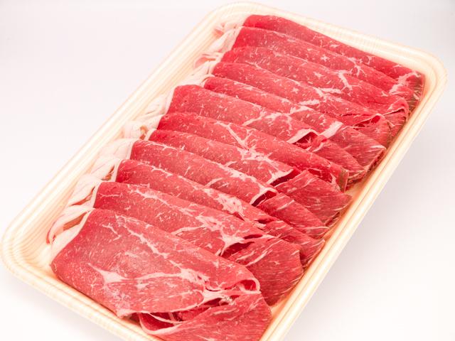 オーシャンビーフ牛モモしゃぶしゃぶ用 500g 【冷凍品・小分け不可】 【16225】