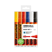 MOLOTOW ONE4ALL 227HS  ベーシックキット1 Pump Marker6本セット
