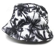 ART SIDE HAT Palmtree バケットハット リバーシブル