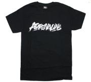 """UNDERPRESSURE """"Adrenaline"""" Tシャツ ブラック"""