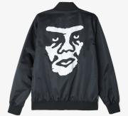 OBEY Creeper Graphic ジャケット ブラック