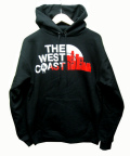 THE WEST COAST パーカー RED