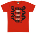 "101apparel  ""MUSIC OF THE PEOPLE"" Teeシャツ"