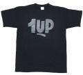 1UP Logo Tシャツ blue