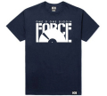 "101apparel  ""DIGGIN FORCE"" ダウンロードカード付き Teeシャツ ネイビー"