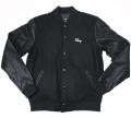 OBEY SOTO COLLEGIATE ジャケット  ブラック