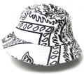 ART SIDE HAT Freehand バケットハット ホワイト