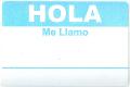 HOLA ステッカー ライトブルー 20枚セット【メール便可】