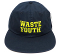 OBEY WASTE YOUTH 6パネル ストラップバック CAP ネイビー