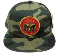 OBEY MCMLXXXIX スナップバック CAP グリーンカモ