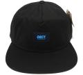 OBEY AVIGNON レザーストラップバック CAP ブラック