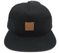 OBEY WORLDWIDE レザーパッチ スナップバック CAP ブラック