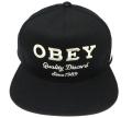 OBEY DISCORD スナップバック CAP ブラック