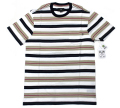 OBEY  ''NEWTOWN'' ボーダー ポケット Tシャツ
