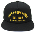 OBEY MFG 1989 スナップバック CAP ブラック