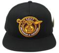 OBEY BROTHERHOOD スナップバック CAP ブラック