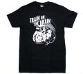 "UNDERPRESSURE ""Train On The Brain"" Tシャツ ブラック"