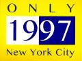 ONLY NY ''1997'' ステッカー イエロー