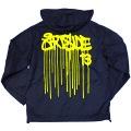 ART SIDE 'CASPER' DRIP ナイロンフード ジャケット02 3色展開