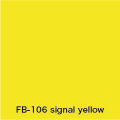 FLAME 106 signal yellow