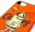 OBEY Mr Spray i phone ケース 5, 4S/4
