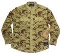 Standard & Grind  L/S カモシャツ