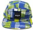 HUF  ''MOD VOLLEY'' 5パネルCAP ブルー
