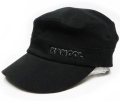 Kangol コットン ツイル ARMY CAP ブラック