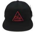 OBEY AUGUSTA スナップバック CAP ブラック