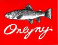 ONLY NY ''FISH'' ステッカー レッド
